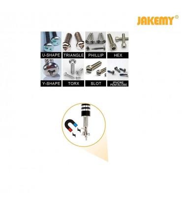 ست پیچ گوشتی JAKEMY JM-8100