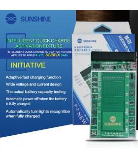 کیت تست ، شوک و شارژ باتری گوشی آیفون مدل Sunshine SS-901