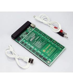 کیت تست ، شوک و شارژ باتری گوشی آیفون مدل Sunshine SS-915