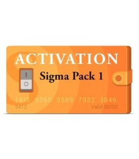 اکتیویشن Sigma Box Pack 1