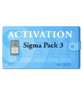 اکتیویشن Sigma Box Pack 3