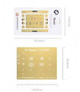 شابلون 2D مخصوص گوشی های آیفون مدل QianLi iOS 2D