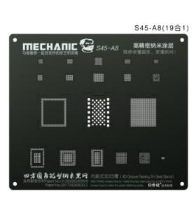 شابلون 3D مدل Mechanic S45