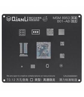 شابلون 3D مدل QianLi MSM 8953-B01-AB