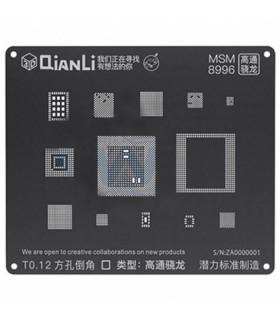 شابلون 3D مدل QianLi MSM 8996