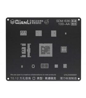 شابلون 3D مدل QianLi SDM 636 100-AA