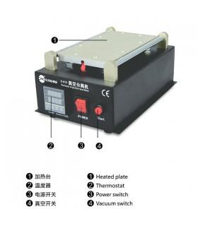 ابزار تعمیرات موبایل آلترلسونیک مدل ultrasonic cleaner 628A