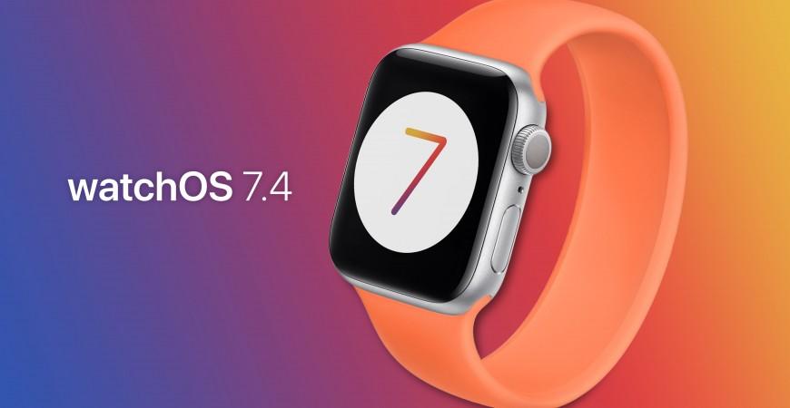 watchOS 7.4 برای اپل واچ منتشر شد